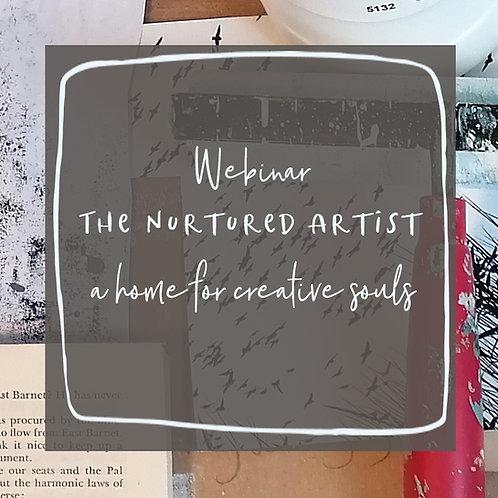 The Nurtured Artist Webinar - 25th February 2021 - 7pm