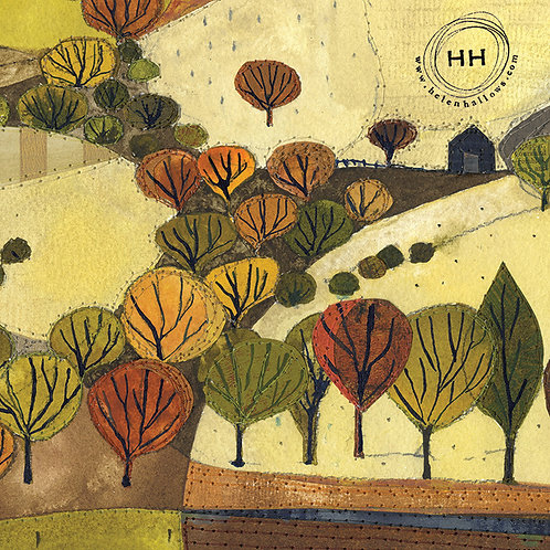 Golden October  - A3 Print