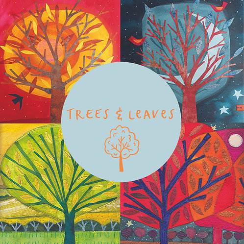 Pack of cards - Leaves & Trees