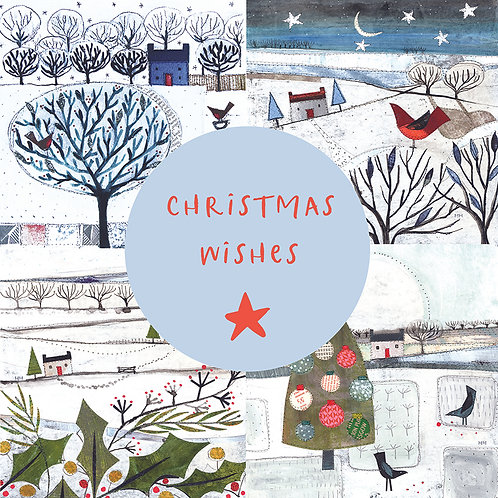 Pack of Christmas cards - Winter Wishes