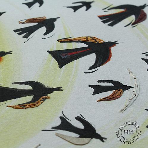 The Rooks flew away - Original