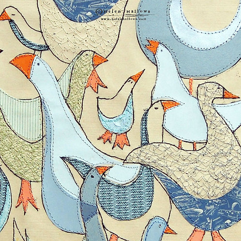 Gaggle - Limited Edition Print
