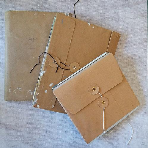 Sketchbook and pocket