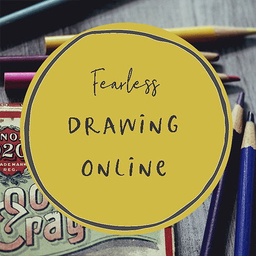 Fearless Drawing - Online - 5th November 2020