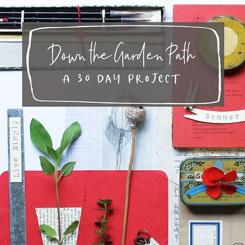 Garden Sketchbook - 30 day project - June 2021