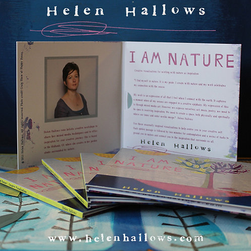 CD - I am Nature - Spoken word inspiration for your creative soul