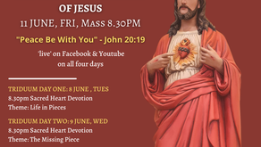 Feast of the Most Sacred Heart of Jesus 2021