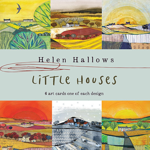 Pack of art cards - Little Houses