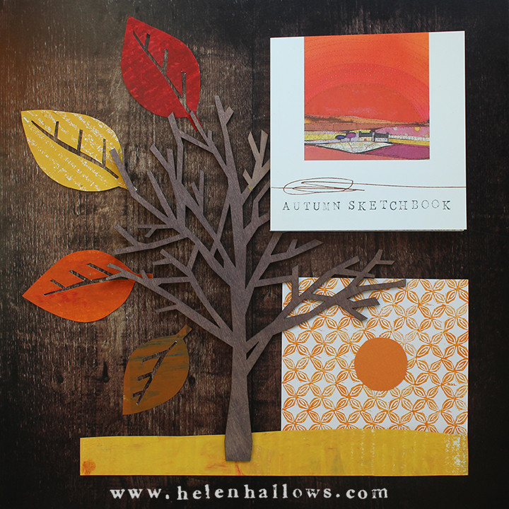 moodboard for Autumn Sketchbooks