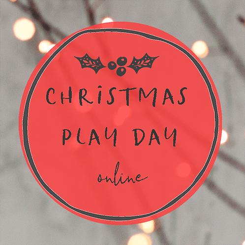 Christmas Card play day - 19th November 2020
