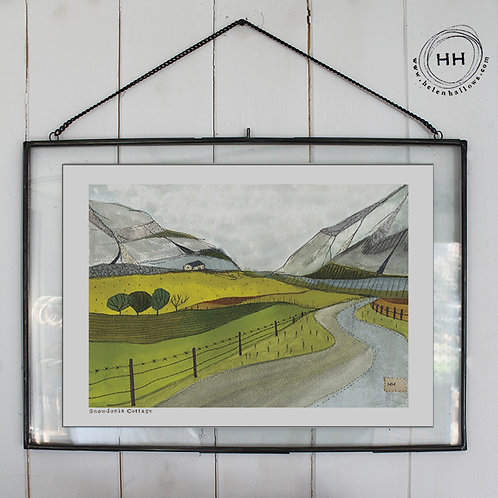 Snowdonia Cottage - Open Edition Print