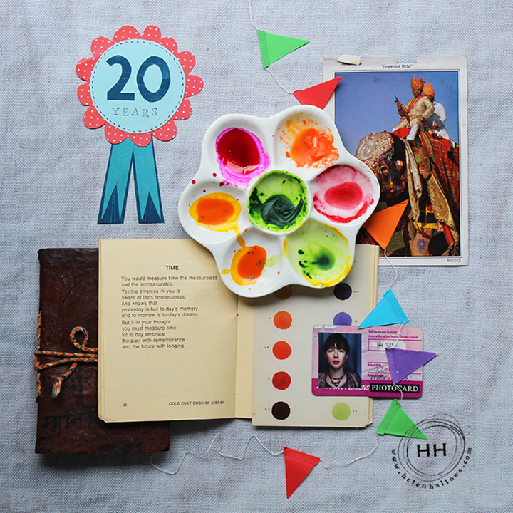20 years in design - Moodboard