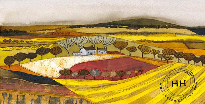 Red Field Helen Hallows