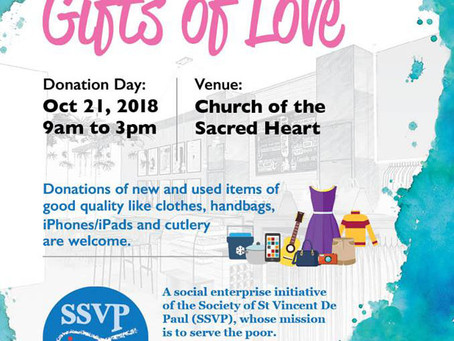Gifts Of Love Donation Day