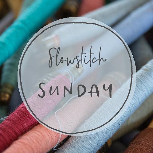 Slow Stitch Sunday Retreat - Sunday July 12th 2020