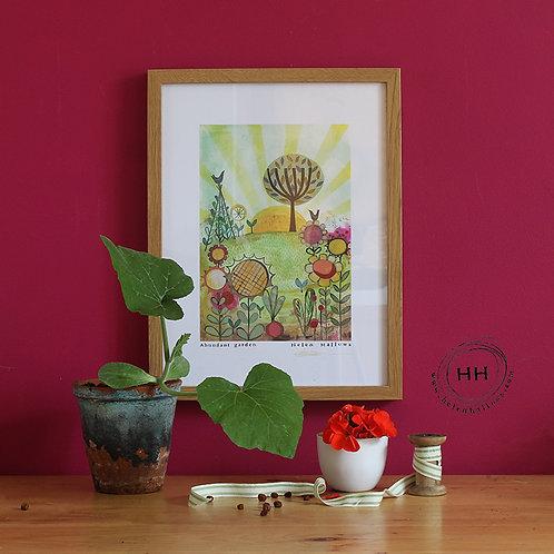 Abundant Garden - Open Edition Print