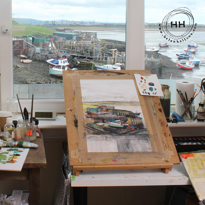 Landscape artist of the Year heat at South Gare