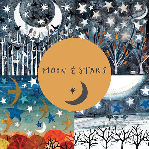 Pack of cards - Moon & Stars