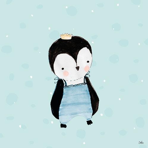 "Leinwand ""Pingu Bleu"""