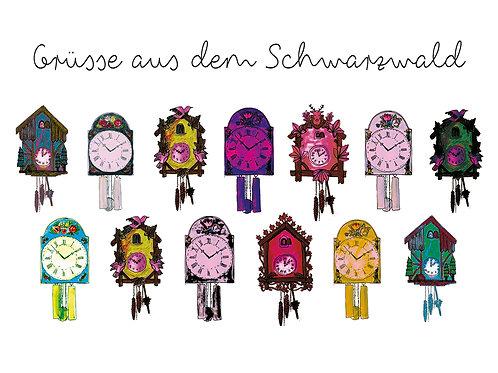Schwarzwald Uhren