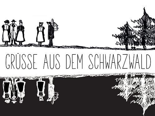 Schwarzwald schwarzweiss