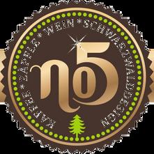 No 5 Kaffee Zäpfle Wein Schwarzwalddesign