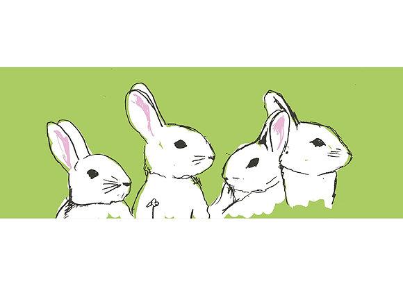 Vier Hasen