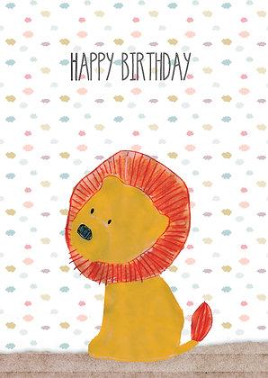 Happy Birthday Löwe