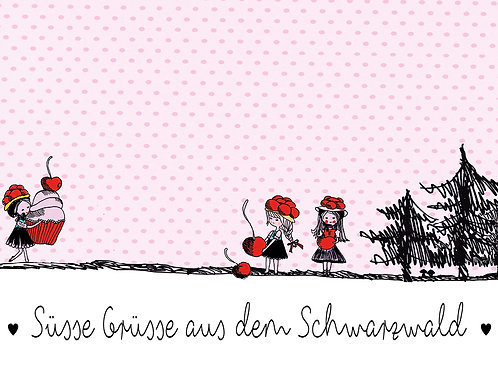 Süsse Grüsse aus dem Schwarzwald