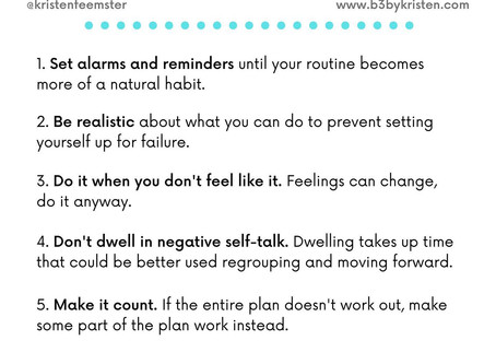 Mastering Your Routine
