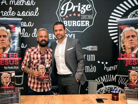 Canal Ser Flamengo entrevista Rui Pedro Braz