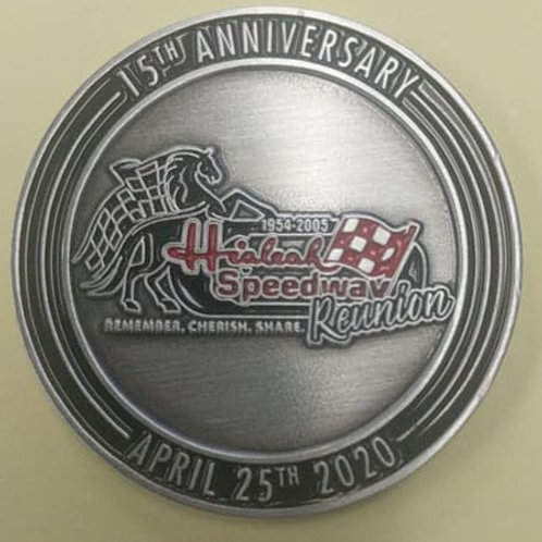 2021 Hialeah Speedway Commemorative Coin