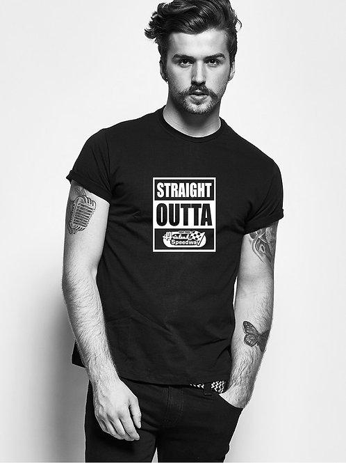 """Straight Outta Hialeah Speedway"" Black Shirt"