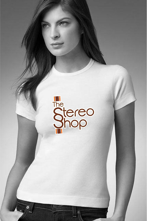 "Ladies ""The Stereo Shop"" Tee"