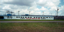 Hialeah Speedway Front of Building