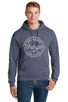 Heathered Navy Blue Sweatshirt