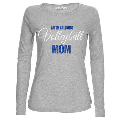 PERSONALIZED GLITTER LONG SLEEVE TEE- 5400L