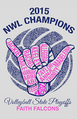2015 VOLLEYBALL NWL CHAMPS- LONGSLEEVE
