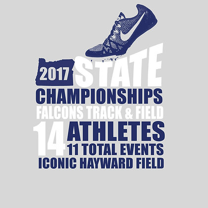 STATE TRACK ATHLETES ONLY