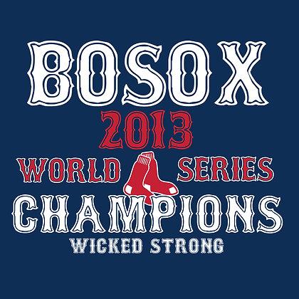 BOSOX WORLD SERIES 2013