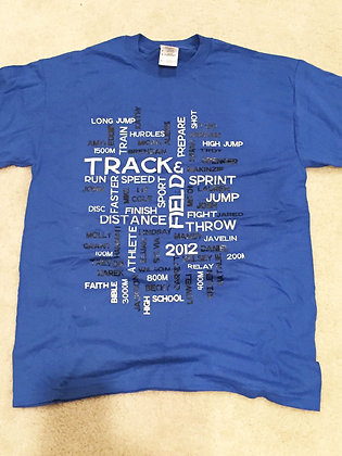 2012 TRACK SHIRT SHORT SLEEVE