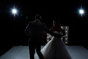 Wedding and first dance at Kettering Park Hotel & Spa - Photo by Daniel Burton Photography