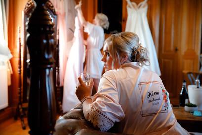 Bridal Prep at Swancar Farm Country House