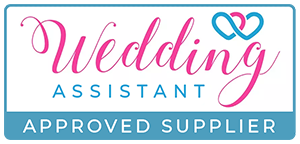 Wedding assistant website logo. A directory off wedding suppliers to help you plan your big day.