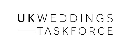 UK Weddings Taskforce banner and link to site