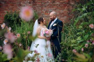 Elvaston Castle Wedding by Daniel Burton Photography - taken in the Old English Garden