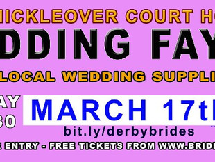 Spring Wedding Fayre Sunday 17th March