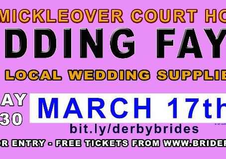 Spring Wedding Fayre Sunday 17th March