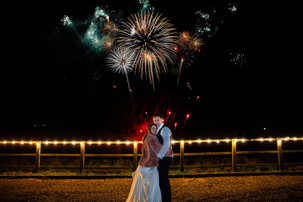 Fireworks at Swancar Farm Country House, Nottingham. Taken by Daniel Burton Photography