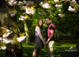 Pre-Wedding Engagement shoot @ Elvaston Castle, Derbyshire.